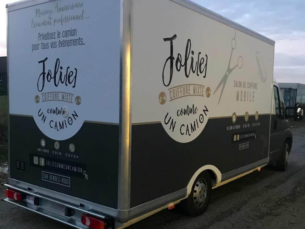 Personnalisation food truck à Toulouse Sprintéo