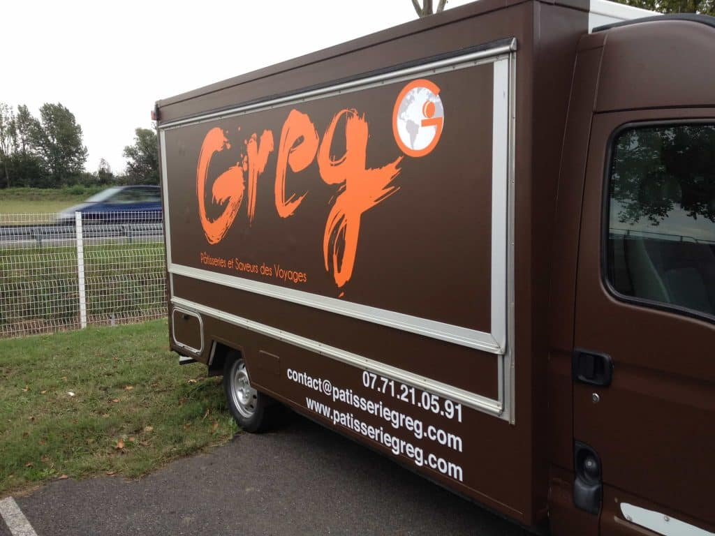 décoration camion boulanger food truck à Toulouse