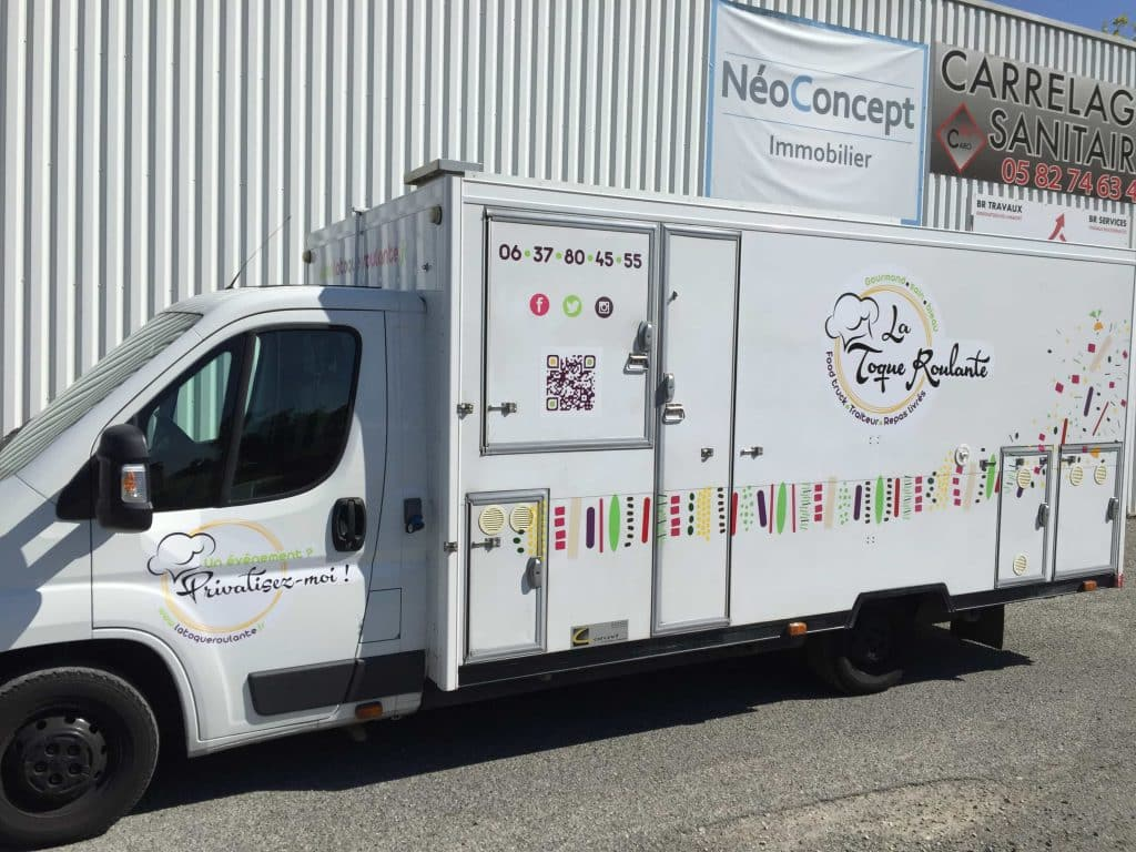 MARQUAGE FOOD TRUCK TOULOUSE