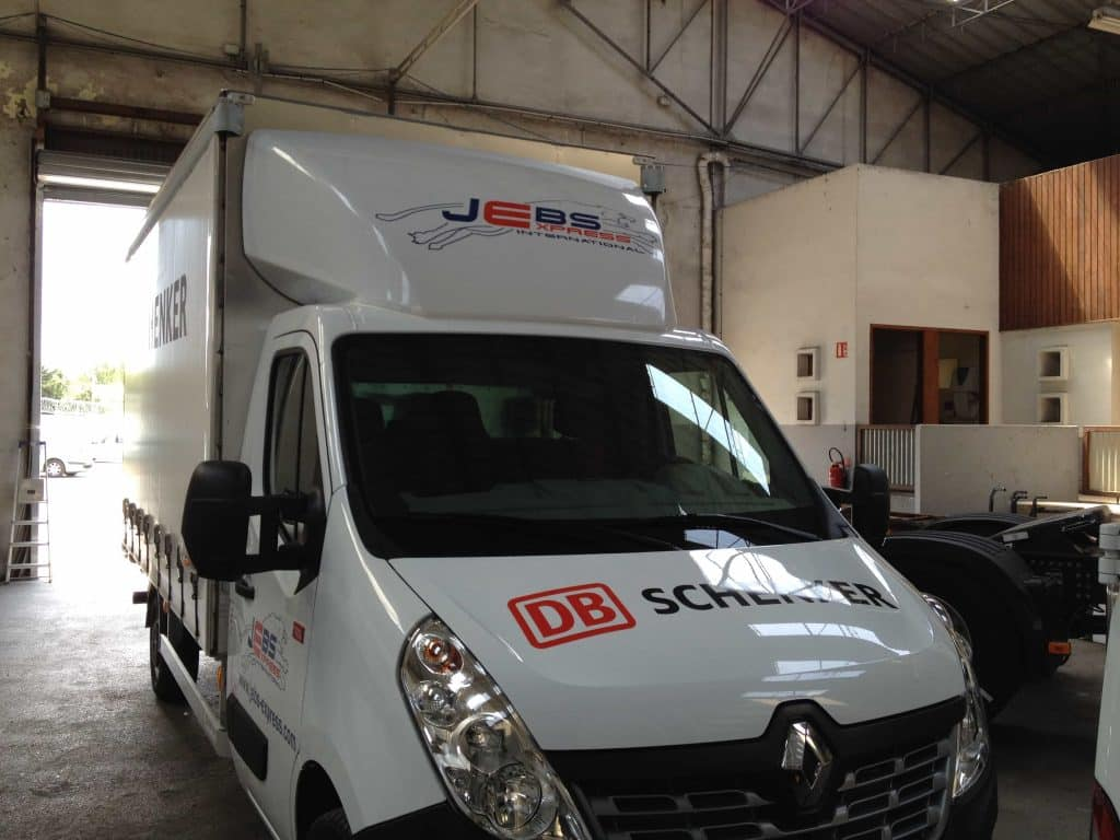 Marquage publicitaire sur camion Toulouse-Sprinteo