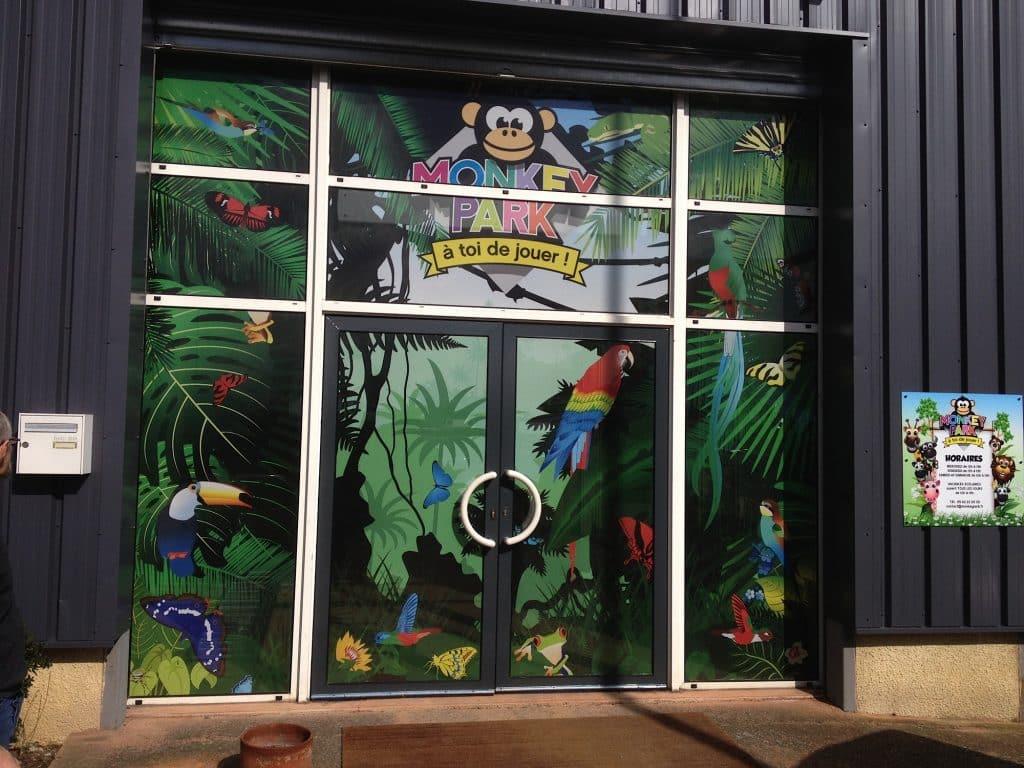 Habillage vitrine Toulouse
