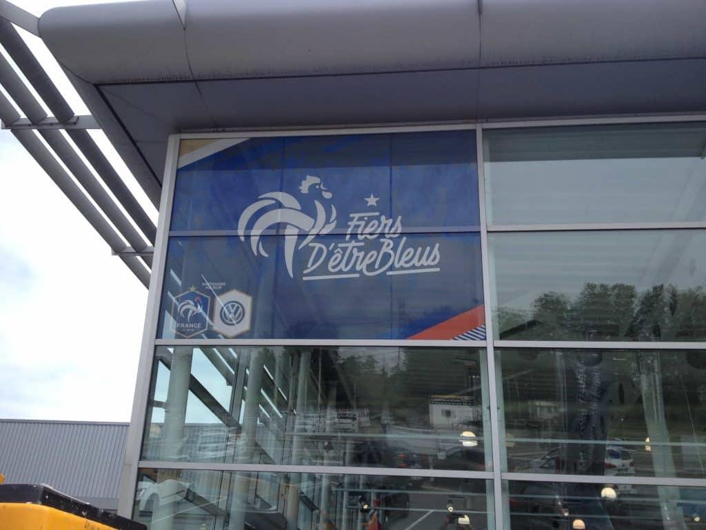 vitrophanie concession automobile DBF Toulouse