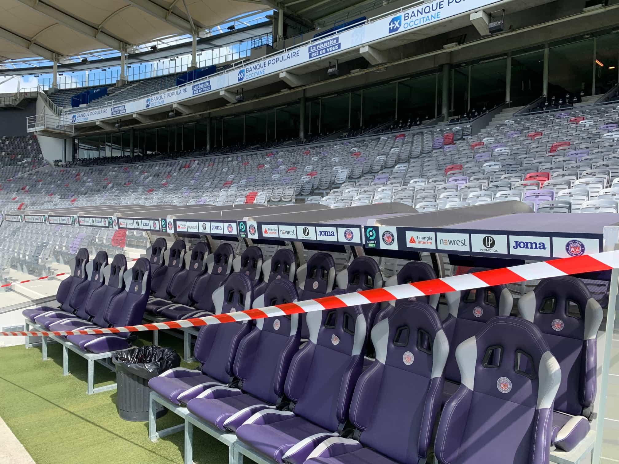 signaletique interieure stadium TFC par Sprintéo